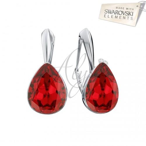 Cercei Fancy Pear Scarlet