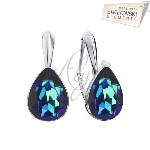 Cercei Fancy Pear Bermuda Blue