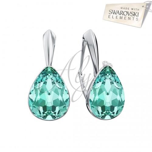Cercei Fancy Pear Turquoise