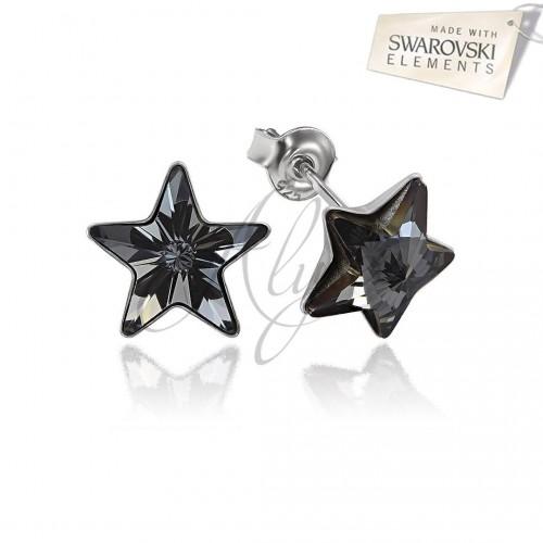 Cercei Star Silver Night