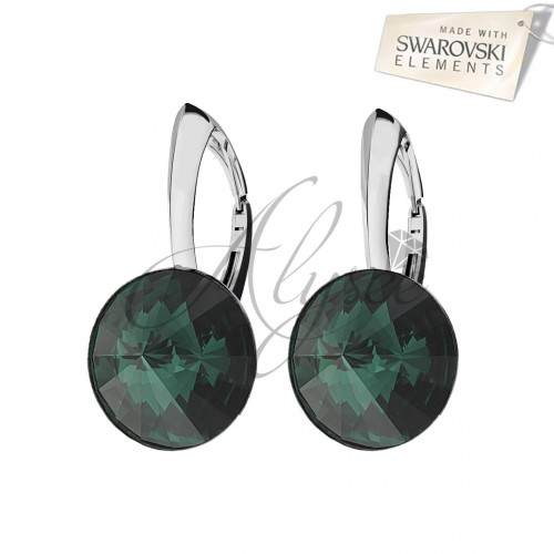 Cercei Rivoli Emerald