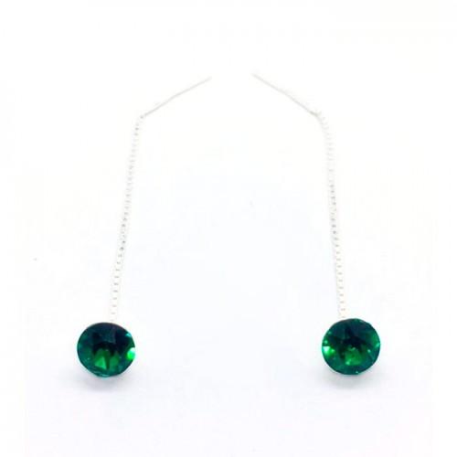 Cercei Chaton Emerald