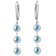 Cercei Light Blue Pearl II