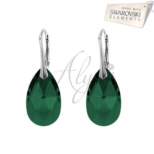 Cercei Pear Emerald