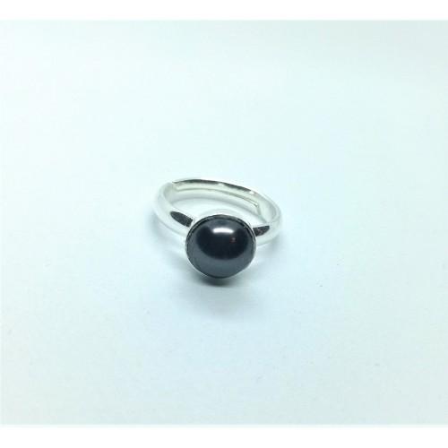 Inel Black Pearl