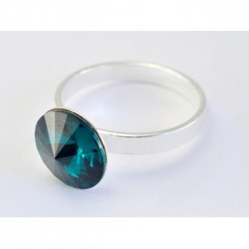 Inel Rivoli Emerald 10mm