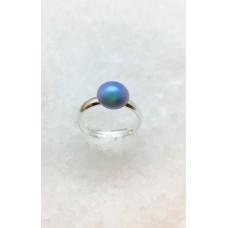 Inel Light Blue Pearl