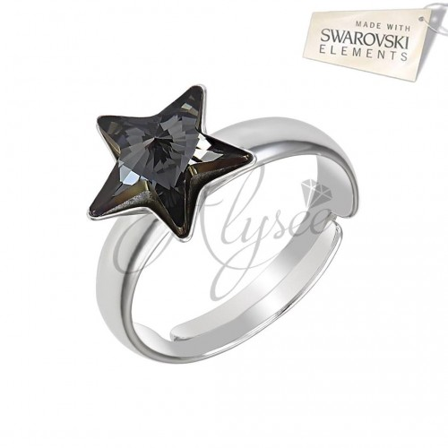 Inel Star Silver Night
