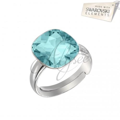 Inel Square Turquoise