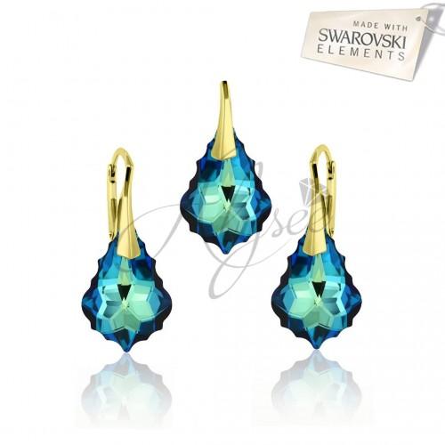 Set Baroque Bermuda Blue Gold
