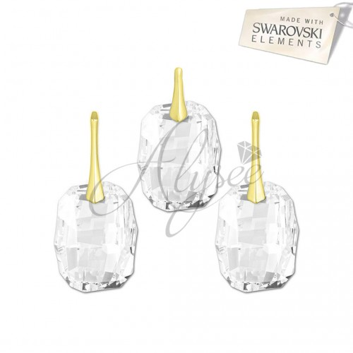 Set Graphic Crystal Gold