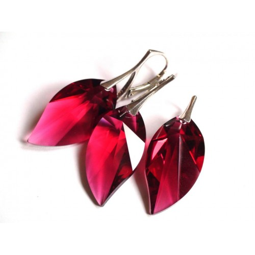 Set Bordeaux Leaf 28mm