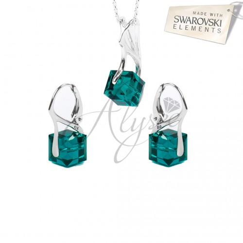 Set Cube Emerald