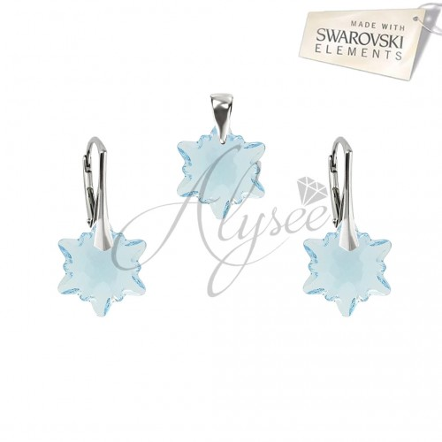 Set Edelweiss Aquamarine