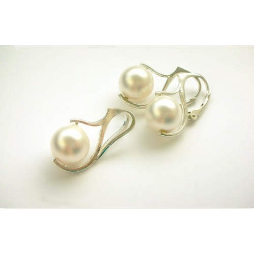 Set White Pearl 10mm