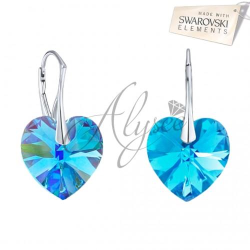 Cercei Aquamarine Heart