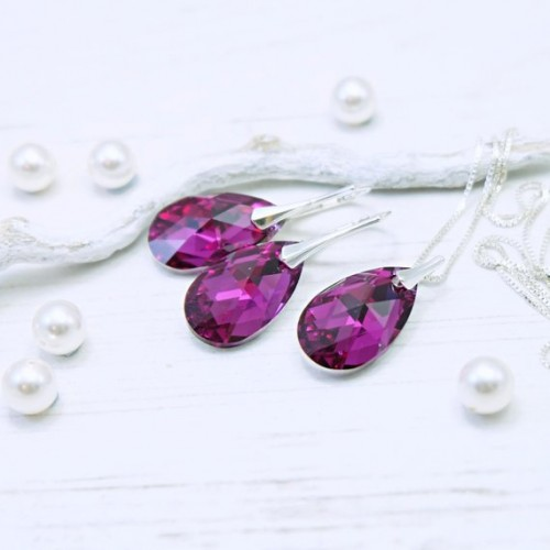 Set Fuchsia Pear