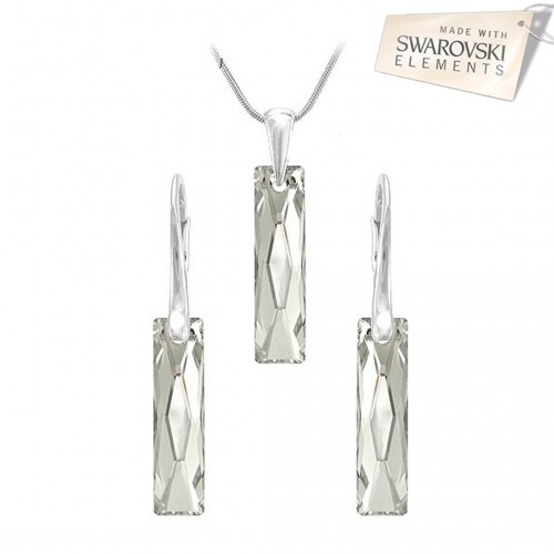 Set Argent Light Queen Baguette
