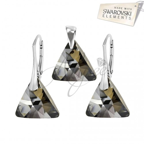 Set Triangle Silver Night