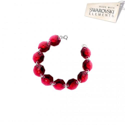 Bratara Ruby Beads