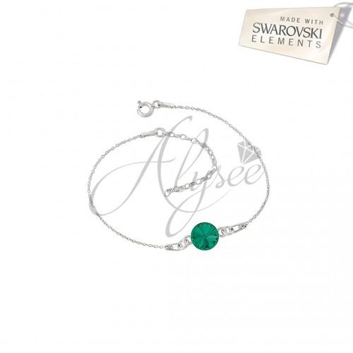 Bratara Rivoli I - Emerald