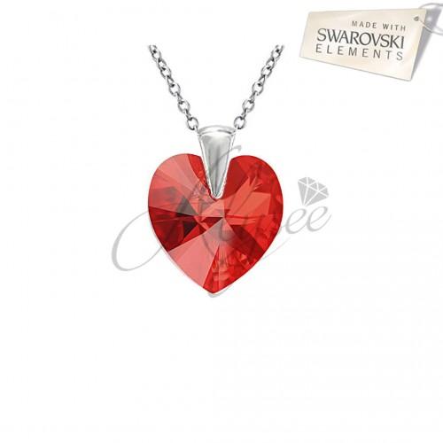 Pandantiv Heart Siam