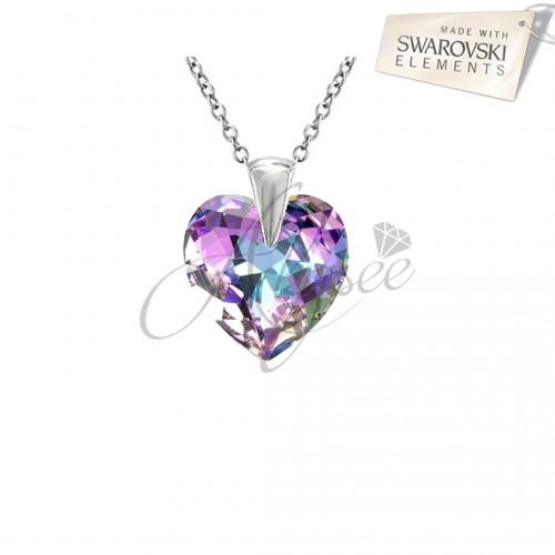 Pandantiv Heart Vitrail Light