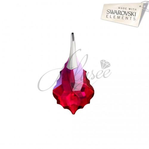 Pandantiv Baroque Ruby
