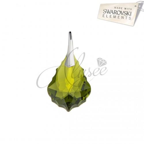 Pandantiv Baroque Olivine