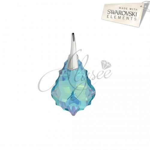 Pandantiv Baroque Aquamarine