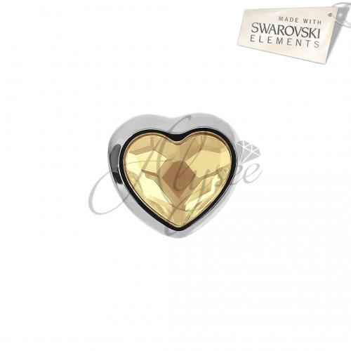 Charm Heart Golden Shadow