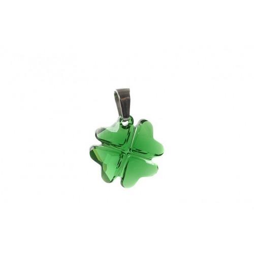 Pandantiv Clover Emerald