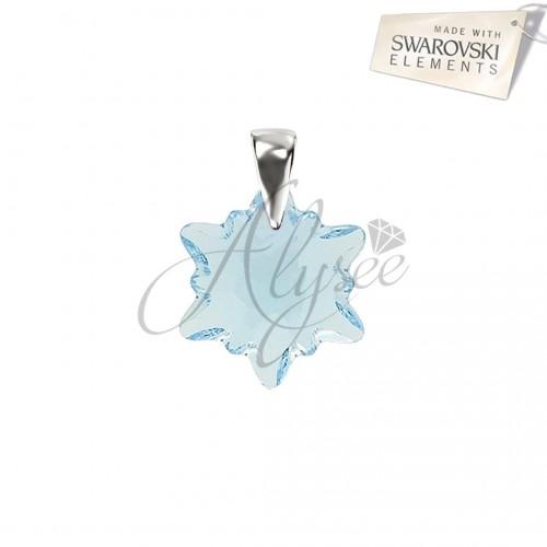 Pandantiv Aquamarine Edelweiss