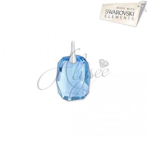 Pandantiv Graphic Aquamarine