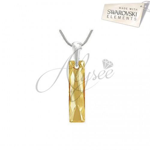 Pandantiv Queen Baguette Golden Shadow