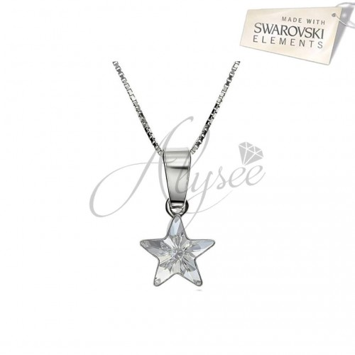 Colier Crystal Star