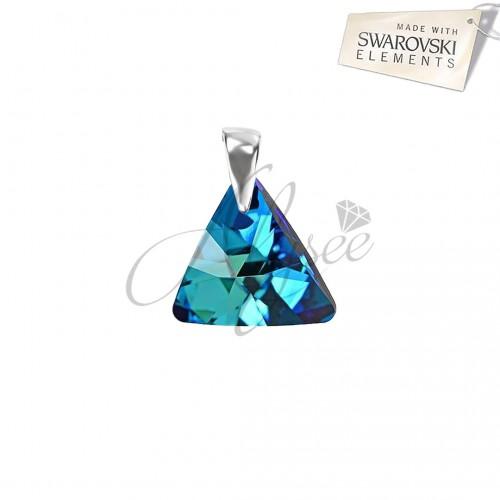 Pandantiv Triangle Bermuda Blue