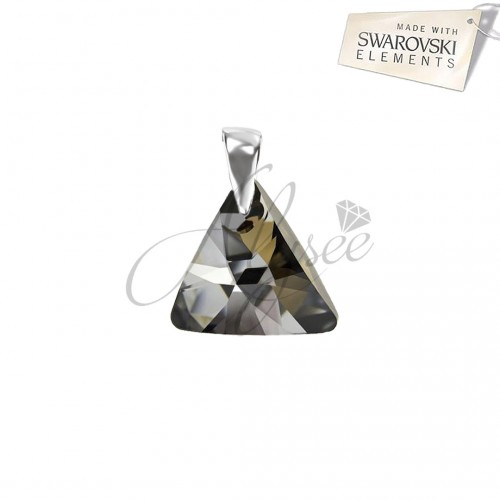 Pandantiv Triangle Silver Night